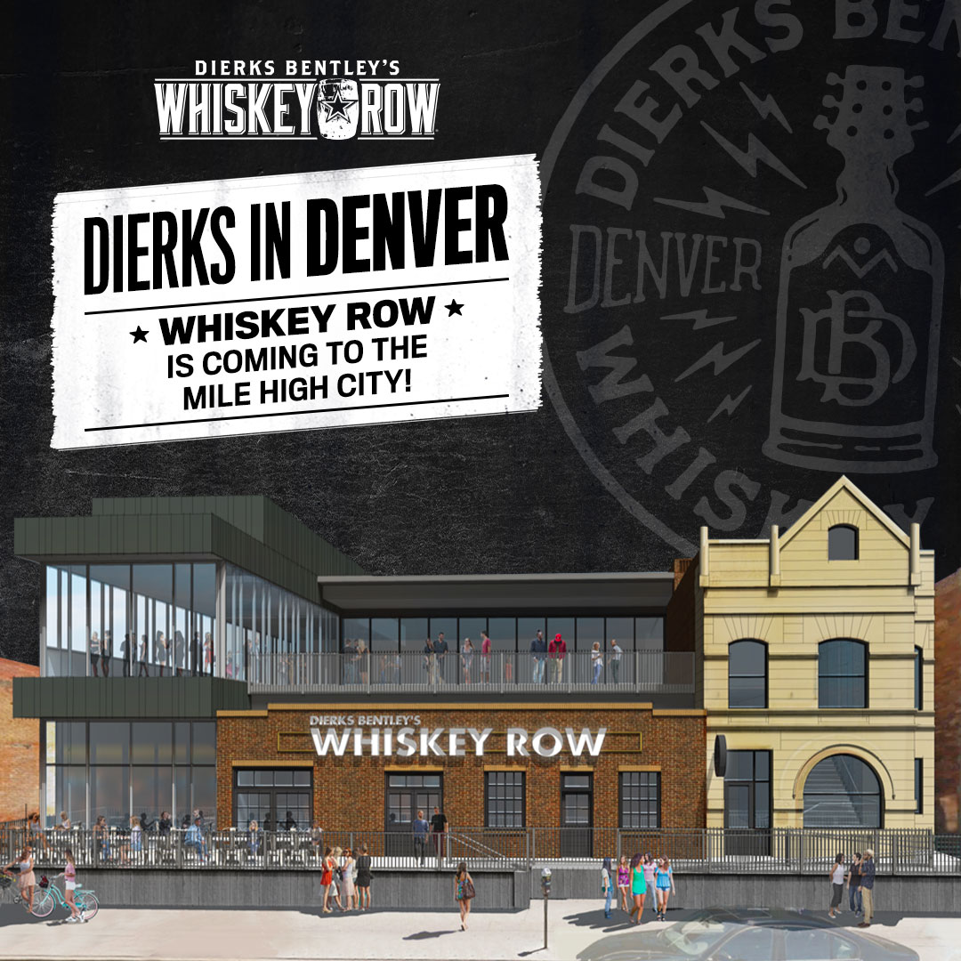 Dierks Bentley's Whiskey Row Denver