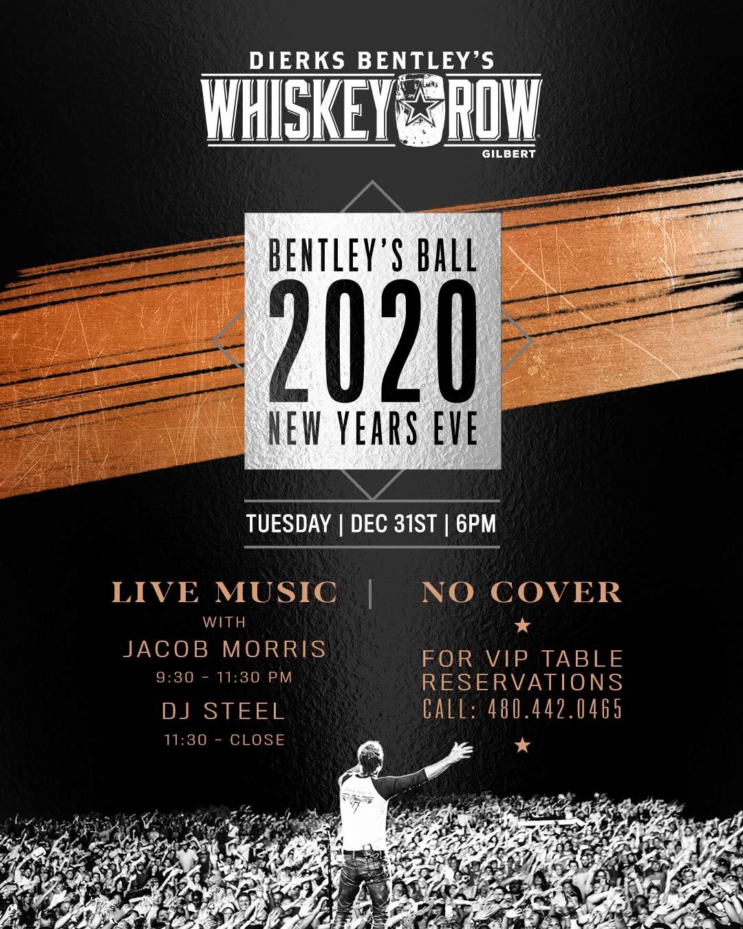 Whiskey Row Gilbert NYE 2020